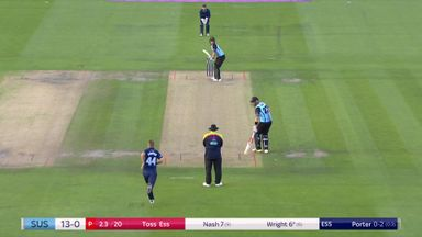 T20 Blast: Sussex v Essex highlights