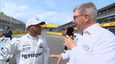 Lewis receives Schumacher family message