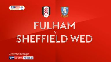 Fulham 0-1 Sheffield Wednesday
