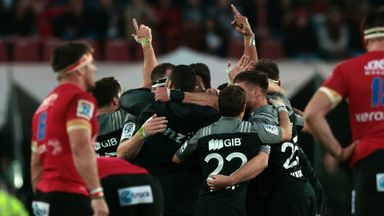 Crusaders win Super Rugby title