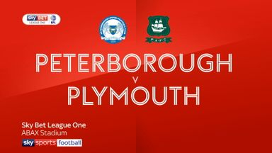 Peterborough 2-1 Plymouth