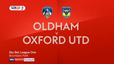 Oldham 0-2 Oxford