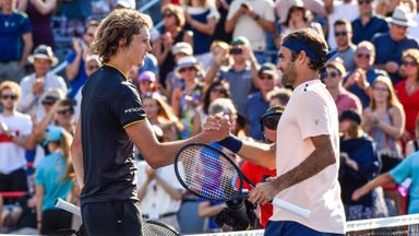 A. Zverev v Federer: Highlights