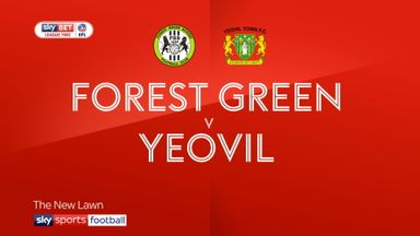 Forest Green 4-3 Yeovil