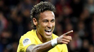 Neymar & co show off skills