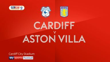 Cardiff 3-0 Aston Villa