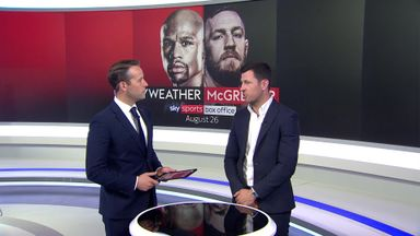 Darren Barker on Mayweather-McGregor