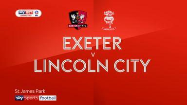 Exeter 1-0 Lincoln