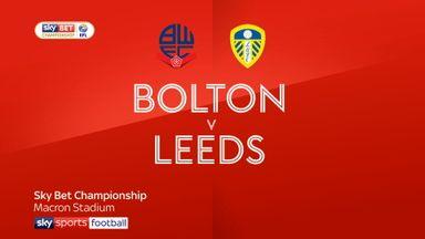 Bolton 2-3 Leeds