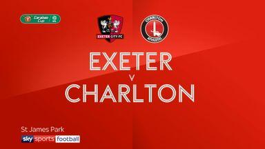 Exeter 1-2 Charlton