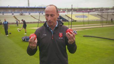 England's pink ball prep