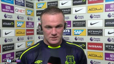 Rooney frustrated by late goal