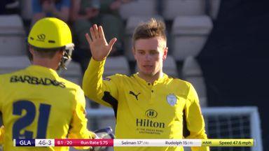 T20 Blast: Hants ease past Glamorgan