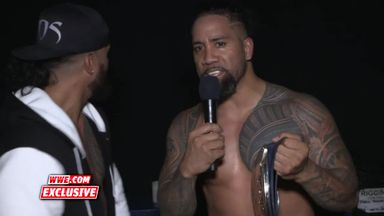 The Usos boast about making history
