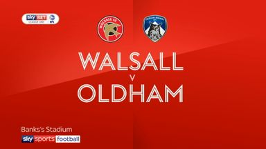 Walsall 2-1 Oldham
