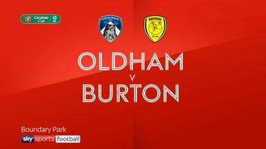 Oldham 2-3 Burton