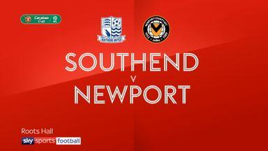 Southend 0-2 Newport