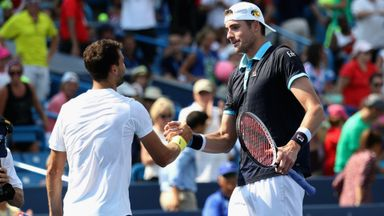 Isner v Dimitrov: Highlights