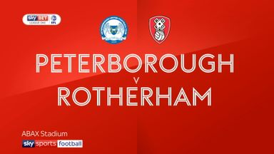 Peterborough 2-1 Rotherham