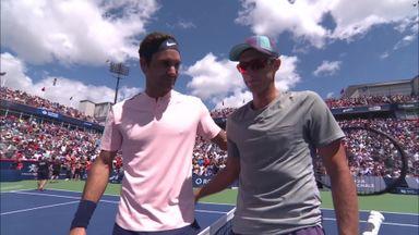 Polansky v Federer: Highlights