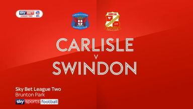 Carlisle 1-2 Swindon