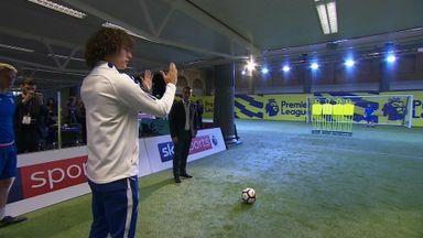 Luiz's free-kick masterclass