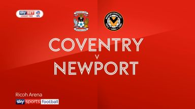 Coventry 0-1 Newport