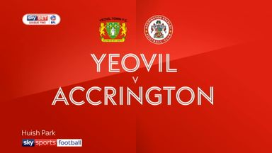 Yeovil 3-2 Accrington