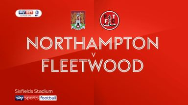 Northampton 0-1 Fleetwood