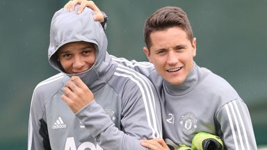 Utd trio back in training