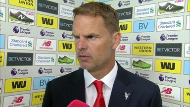 De Boer pleased with Palace spirit