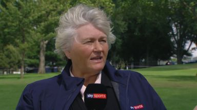 Davies discusses Solheim foursomes