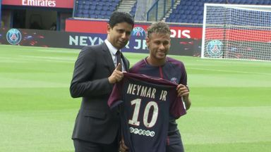 Neymar mania hits Paris