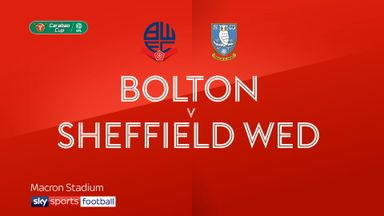 Bolton 3-2 Sheffield Wednesday