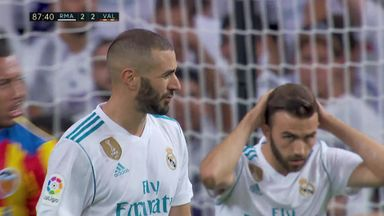 Benzema miss un-Real