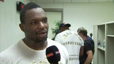Whyte pleased with U.S debut
