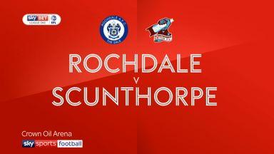 Rochdale 1-1 Scunthorpe