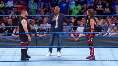 AJ Styles apologies to Shane McMahon