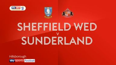 Sheff Wed 1-1 Sunderland