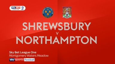 Shrewsbury 1-0 Northampton