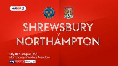 Shrewsbury 1-0 Northampton