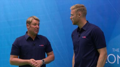 Warne and Flintoff's Coaching Clinic