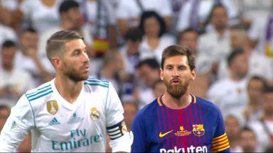 Ramos irks Messi