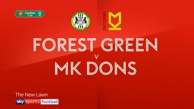 Forest Green 0-1 MK Dons AET