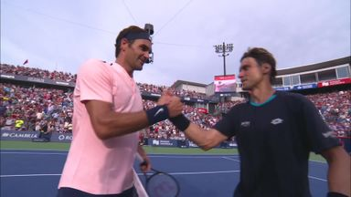 Ferrer v Federer: Highlights