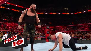 WWE Top 10: Raw moments