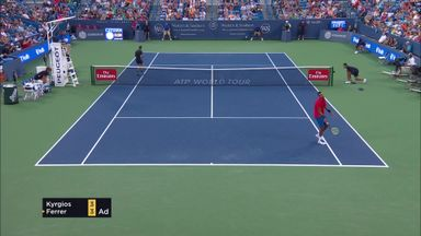 Kyrgios summed up in 60 secs
