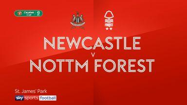 Newcastle 2-3 Nottm Forest AET