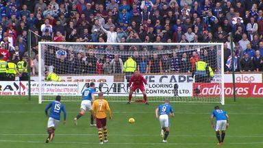 Motherwell 1-2 Rangers