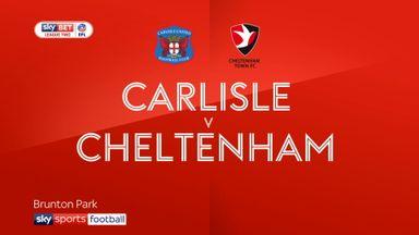 Carlisle 3-0 Cheltenham
